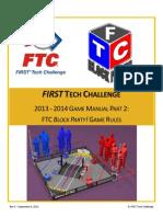 FTC-2013-2014 Game Manual Part 2
