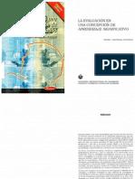 Pedro Ahumada - La Evaluación en una concepción de aprendizaje significativo