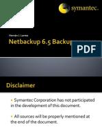Netbackup 6.5 Backup Process