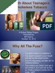artifact 1 smokeless tobacco school safety presentation artifact for portfolio