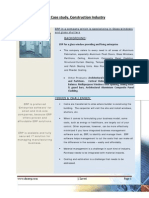 ERP Case Study for Construction Industry.  Windows & shutters.