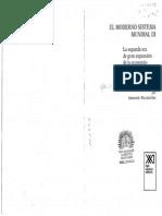 I. Wallerstein - El Moderno Sistema Mundial