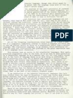 REMARKS ON THE ESPERANTO SYMPOSIUM = finaj rimarkoj by Mario Pei el The complete Esperanto Symposium 1964 pt. 3