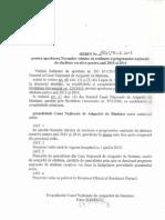 ORDIN Programe Nr 190 Din 2013