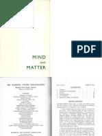 Mind and Matter v6 3