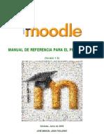 Moodle. Manual de referencia para profesores (versión 1.9)