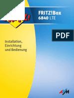 Handbuch Fritz Box 6840 Lte