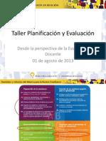 Taller Planificacion Evaluacion