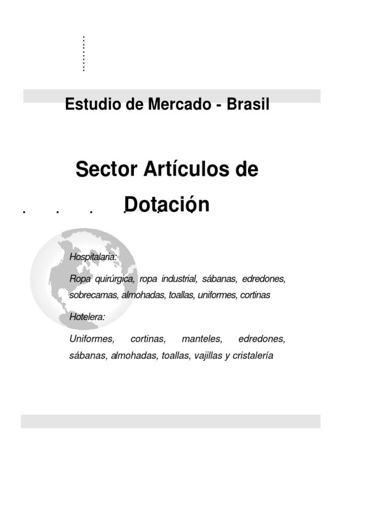 Sector Artículos de dotacion Brasil 86dc736ba5bb
