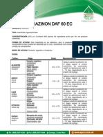 Diazinon Daf EC Ficha Tecnica