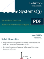 3 Robotic Systems Kinematics