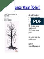 Mencari Gambar Wajah (IQ-Test)