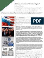 Insider News - 1647 - Russia Prepares to Label Obama Government 'Criminal Regime'