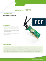 TL-WN851ND V1 Datasheet