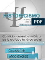 Presentacion de Historisismo
