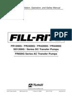 Fillrite Fuel Pump Manual