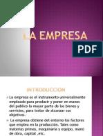 Clases de Administracion I-la Empresa 2013