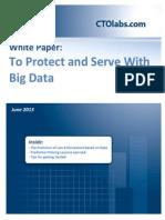 Predictive Policing and Big Data