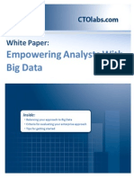 Empowering Analysts With Big Data
