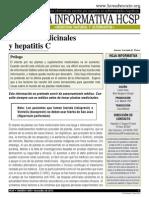 Hierbas Medicinales y HEPATITIS C