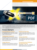 SecureDongle X - Cost Effective Software Dongle