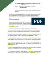 Preguntero Choice Parciales Provincial y Municipal