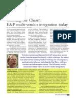openspirit multivendor integration article drilling  explor world valusek
