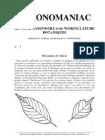TAXONOMANIA 1