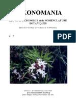 TAXONOMANIA 7