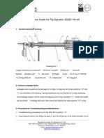 Maintenance Guide for Pig Signaller