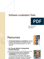 Software Localization Tools