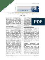 Promulgacion de La Ley Organica Del Tribunal Supremo de Justicia