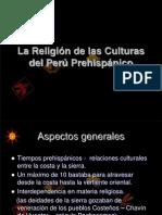 La religión de las culturas del Perú Prehispánico final