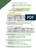 calendario exámenes de septiembre 2009
