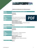 Antecedentes de Trabajo FDC de Argentina