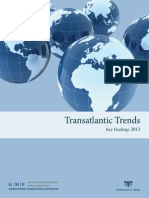 Transatlantic Trends 2013