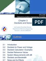 Topic 3-Decibels and Noise