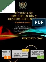 Métodos de humidificación y deshumidificación
