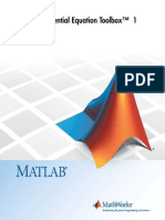 Partial Differential Equation Toolbox + User Guide MatLab