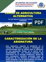 1. Curso de Agricultura Alternativa