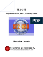 Manual de Usuario SE2-USB