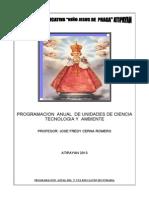 PROGRAMACIÓN  ANUAL DEL  jose-2013