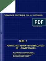 Epistemologia de La Investigacion