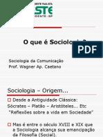 aula 1- o que é sociologia