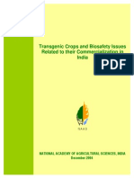 pp29-Transgenic crops and Biosafety issues