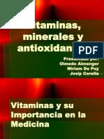Vitaminas y Antioxidantes