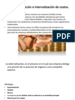4.5 Externalización e internalización de costos