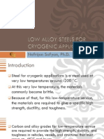 7. Low Alloy Steels for Cryogenic Applications