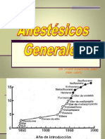 Anestesicos Generales - Dr Ither Sandoval