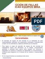Detección de fallas electricas equipos mina